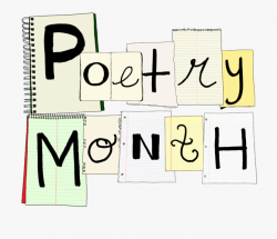 From Our Corner - National Poetry Month Clipart #685428 ...