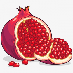 Pomegranate, Red, Red Seed Seeds PNG Image and Clipart for Free Download