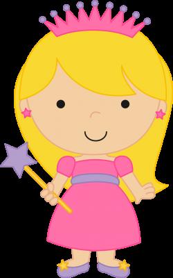 Princesas e Príncipes - Fairytale Princess Clipart 02.png - Minus ...