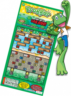 NE Lottery Frogger - Ticket information