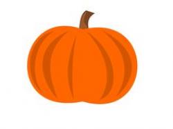 Cute Pumpkin Faces | Plain Pumpkin clip art - vector clip art online ...