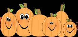 Cute Pumpkin Clip Art | Pumpkin Patch Clip Art Image - patch of ...