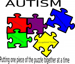 Autism Putting One Piece Of The Puzzle Together At A Time Clip Art ...
