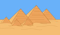 Ancient Pyramid Clipart