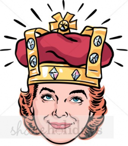 Queen Mom Clipart | Mother's Day Clipart