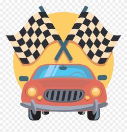 Inspirational Design Ideas Racing Clipart - Car Race Winner ...