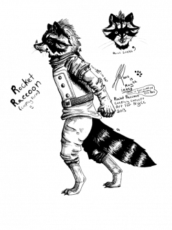 Raccoon Line Drawing at GetDrawings.com | Free for personal use ...