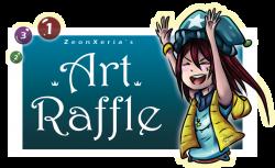 Art Raffle! [CLOSED] by ZeonXeria on DeviantArt