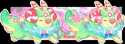 Raffle: Babi-Babi Puff OPEN! by RayFierying | Creature / Monster ...