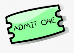 Ticket Clipart #198804 - Free Cliparts on ClipartWiki