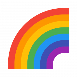 Rainbow Icon - free download, PNG and vector