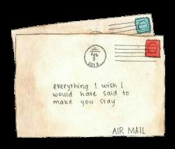 Overlays Transparent ♥ — Especial cartas #2 | Tumblr Transparents ...