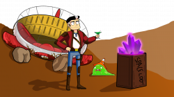 I made a game inspired by my undying love for Rick and Morty ...
