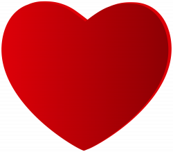 Large Red Heart PNG Clipart - Best WEB Clipart