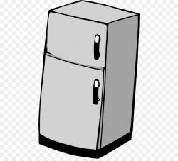 Refrigerator Clip art - freezer png download - 512*809 - Free ...