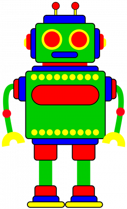 Robot clipart for your project or classroom. Description from ...