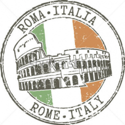 Rome Italy Clipart
