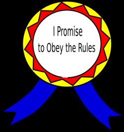 Obey The Rules Badge Clip Art at Clker.com - vector clip art online ...