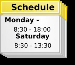 Schedule Symbol Clip Art at Clker.com - vector clip art online ...