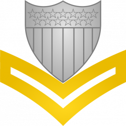 File:Insignia of a United States Coast Guard petty officer second ...