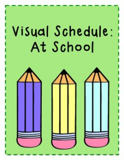 Visual Schedule for School Day - Elementary | Teachers Pay ...