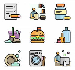 Daily Icons - 475 free vector icons