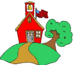 school house clip art | Free Back to School Clipart ...