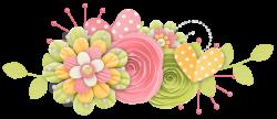 Rosimeri Andrade PottyAnimalGirlClusters ~ Spring Flowers Clipart ...