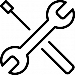 Tools-2 Wrench Screwdriver Svg Png Icon Free Download (#361 ...