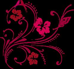 Butterfly Scroll Clip Art at Clker.com - vector clip art online ...