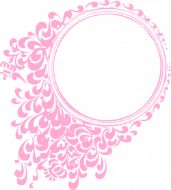 Circle clipart filigree - Pencil and in color circle clipart filigree