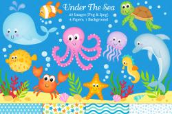 Under the sea graphics & illustrations, | Design Bundles