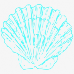 Shell Clipart Pink - Seashell Clipart Blue #56053 - Free ...
