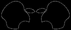 Alien, made using Apple logo | Aliens | Pinterest | Apple logo