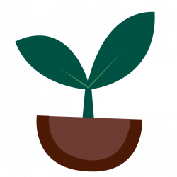 Plant clipart small plant ~ Frames ~ Illustrations ~ HD images ...
