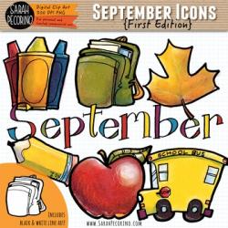 September Clip Art {First Edition}