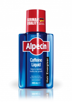 Alpecin Caffeine Liquid helps to support hair root activity