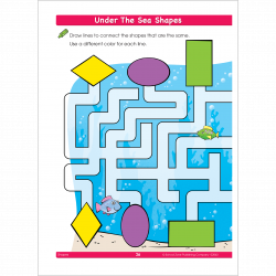 This Shapes Workbook Helps Preschoolers Get Ready for Math! | School ...