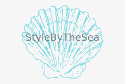 This Free Clip Arts Design Of Stylebythesea Shell - Seashell ...