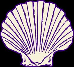 Purple Shell Clip Art at Clker.com - vector clip art online, royalty ...