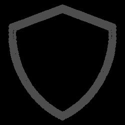Shield heraldic emty - Transparent PNG & SVG vector