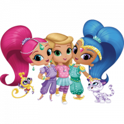 Shimmer and Shine transparent PNG images - StickPNG