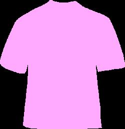 Powder Pink T-shirt Clip Art at Clker.com - vector clip art online ...