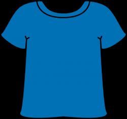Blue Tshirt | เครื่องแต่งกาย | Pinterest | Clip art