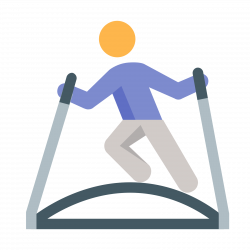 Ski Simulator Icon - free download, PNG and vector