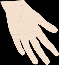 Clipart - Hand