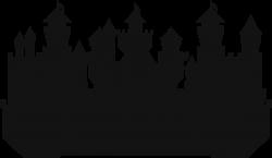 Clipart - Large Castle Silhouette