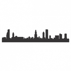 Ny Skyline Silhouette Stencil at GetDrawings.com   Free for personal ...