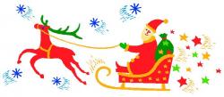 Free Santa Sleigh Clipart, Download Free Clip Art, Free Clip ...