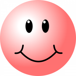 happy faces | Pink Smiley Face clip art - vector clip art online ...